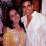 Akshay Kumar with his sister Alka Bhatia