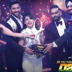 "Alisha Behura after winning the trophy of ""So You Think You Can Dance"""