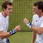 Andy Murray with brother Jamie Murray