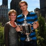 Andy murray with mother judy murray