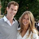 Andy murray with with Kim Murray Sears