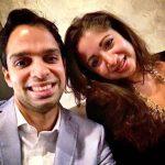 Ankita Makwana with her brother