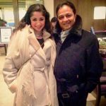 Ankita Makwana with her father