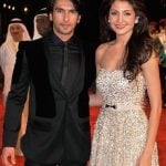 Ranveer Singh with Ex-girlfriend Anushka Sharma