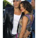Asia Argento with Vin Diesel
