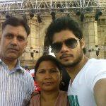 Avinash Dwivedi with his parents