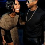 Brandy Norwood and Usher