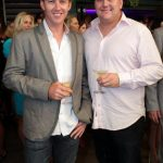 Brett Lee with his brother Shane Lee