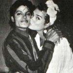 Broke Shields and Michael Jackson