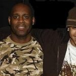 Chris brown and his dad
