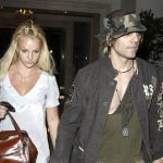 Criss Angel with Britney Spears