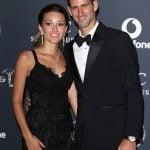 Djokovic with wife Jelena