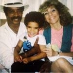 Drake with his Parents