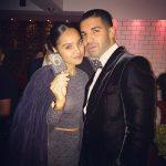 Drake with his sister