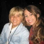 Dylan Sprouse and Miley