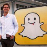 Evan Spiegel CEO of Snapchat