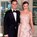 Evan Spiegel with Miranda Kerr