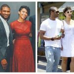 Grace Miguel and Usher