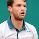 Grigor Dimitrov dated Serena