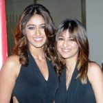 Ileana D'Cruz with her elder sister Farrah D'Cruz