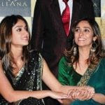 Ileana D'Cruz with her mother