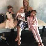 Ivanka Trump with her children