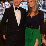 Ivana Trump with her husband,  Jared Kushner