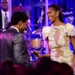 Jessica White and Usher