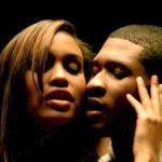 Joy Bryant with Usher