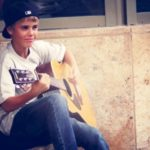 Justin Bieber Playing The Guitar