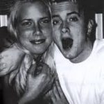 Kimberly Anne Scott and Eminem goofing around