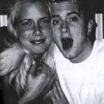 Kimberly Anne Scott and Eminem goofing around