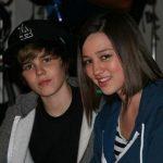 Justin Bieber With His Ex-Girlfriend Kristen Rodeheaer