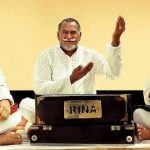 Lakhwinder Wadali with his father and uncle