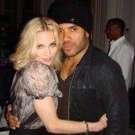 Lenny Kravit and Madonna