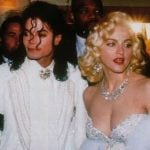 Madonna with MJ!