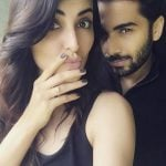Mandana Karimi with her Ex-husband Gaurav Gupta