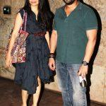 Maria Goretti with her husband Arshad Warsi