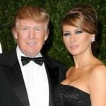 Melania Trump with her husband Donald Trump