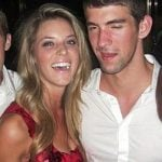 Michael Phelps with his Ex-girlfriend Carrie Prejean