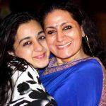 Mokshada Jailkhani with her mother