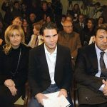 Nadal with Parents