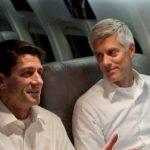 Paul Ryan with his brother Tobin Ryan