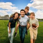 Paul Ryan with his children