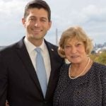 Paul Ryan with his mother