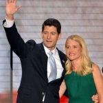 Paul Ryan with his wife Janna