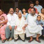 Pyarelal Wadali with his family