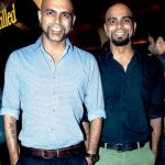 Raghu Ram (right) with his brother Raghu