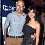 Rajiv Laxman with his wife
