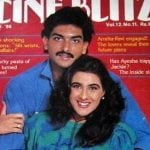 Ravi Shastri with his Ex-girlfriend Amrita Singh